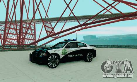 Dodge Charger 2012 Police pour GTA San Andreas