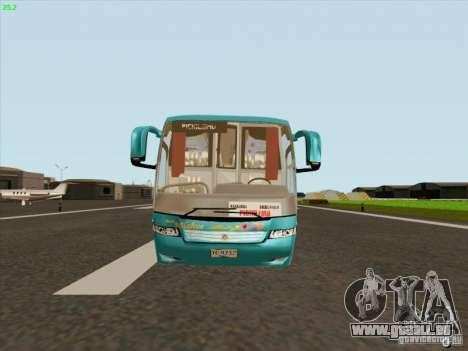 Mercedes-Benz Vissta Buss LO pour GTA San Andreas sur la vue arrière gauche
