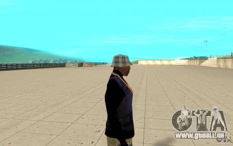 Peau de Bronik 5 pour GTA San Andreas deuxième écran