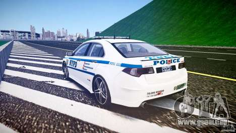Honda Accord Type R NYPD (City Patrol 2322) ELS für GTA 4 Seitenansicht