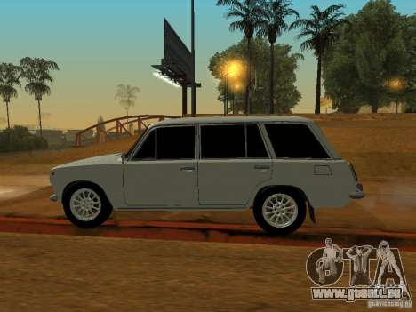 VAZ 2102 pour GTA San Andreas sur la vue arrière gauche