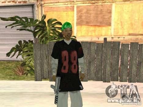 Nouveaux skins le Gang de Grove Street pour GTA San Andreas