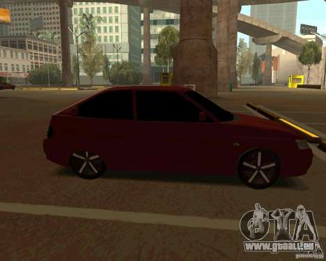 LADA 2112 coupé c. 2 pour GTA San Andreas laissé vue