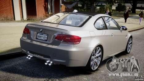 BMW M3 E92 pour GTA 4 est un côté