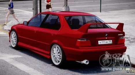 BMW 318i Light Tuning v1.1 für GTA 4 rechte Ansicht