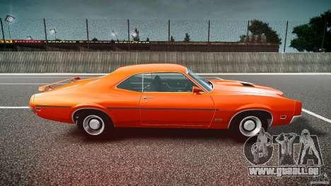 Mercury Cyclone Spoiler 1970 pour GTA 4 est une gauche
