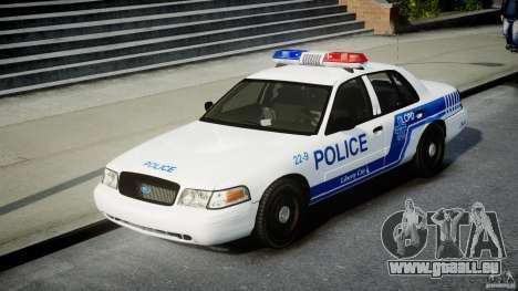 Ford Crown Victoria CVPI-V4.4M [ELS] pour GTA 4