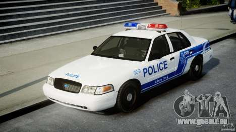 Ford Crown Victoria CVPI-V4.4M [ELS] für GTA 4