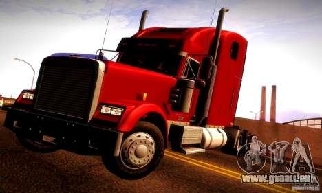 Freightliner Classic XL pour GTA San Andreas salon
