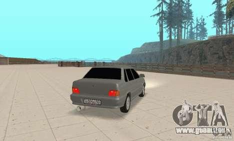 VAZ 2115 TUN für GTA San Andreas linke Ansicht