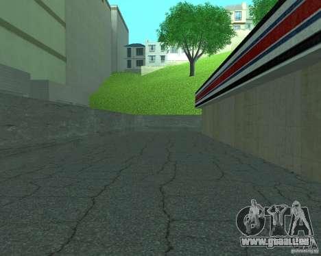 Nouveau Xoomer. nouvelle station-service. pour GTA San Andreas quatrième écran