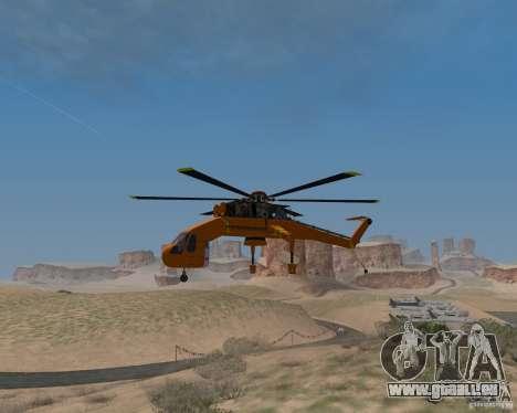 Skylift pour GTA San Andreas vue de droite