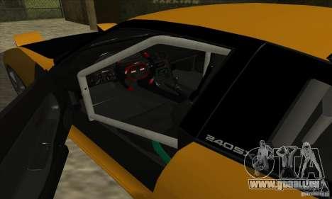 Nissan 240SX Drift Tuning pour GTA San Andreas vue de droite