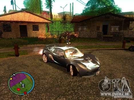 Lotus Exige - Stock für GTA San Andreas