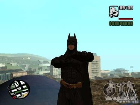 Batman pour GTA San Andreas troisième écran