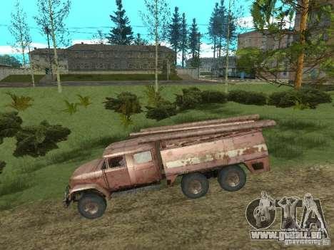 ZIL 131 pour GTA San Andreas sur la vue arrière gauche