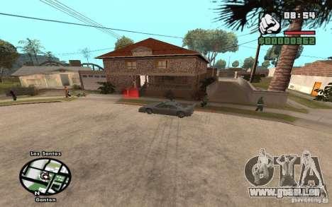 New CJs House pour GTA San Andreas troisième écran
