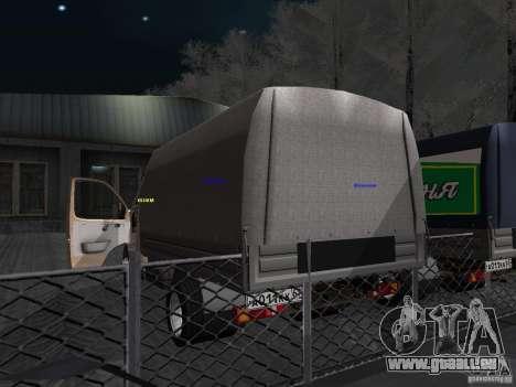 3302 Gazelle pour GTA San Andreas vue de droite