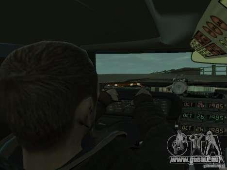 DeLorean BTTF 2 pour GTA 4 Vue arrière