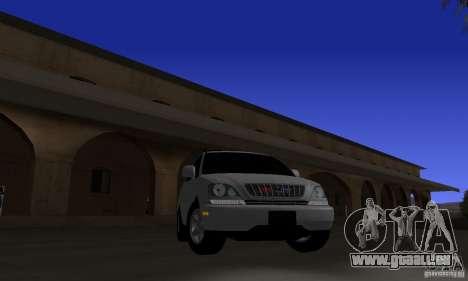 Lexus RX300 pour GTA San Andreas vue arrière