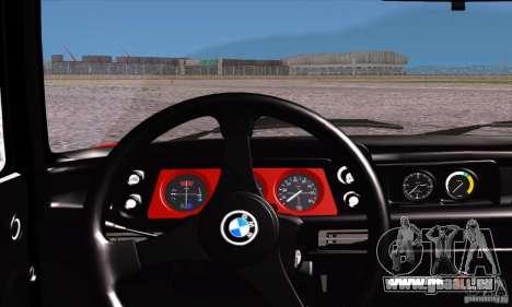 BMW 2002 Turbo pour GTA San Andreas vue de côté