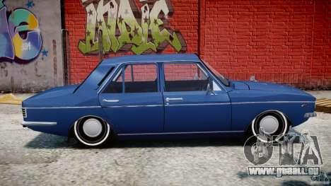 Peykan 1348 1970 pour GTA 4 Vue arrière de la gauche