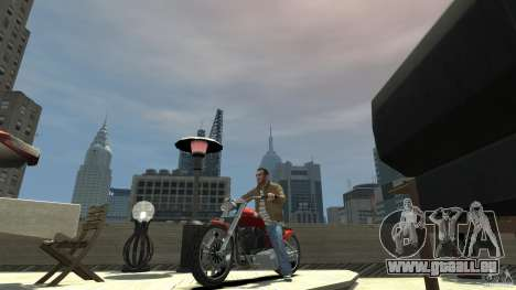 The Lost and Damned Bikes Lycan für GTA 4 linke Ansicht