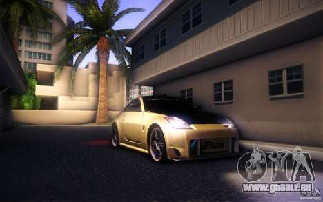 Nissan 350Z Fairlady pour GTA San Andreas vue de côté