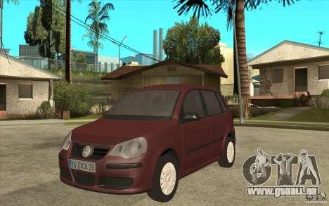 Volkswagen Polo 2006 pour GTA San Andreas
