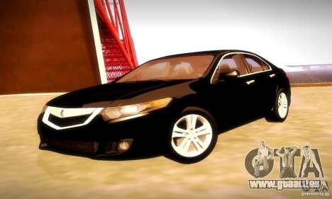 Acura TSX V6 pour GTA San Andreas vue arrière