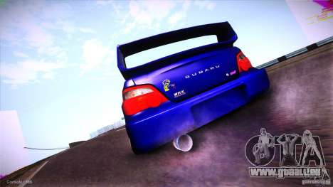 Subaru Impreza WRX STI 2011 für GTA San Andreas zurück linke Ansicht
