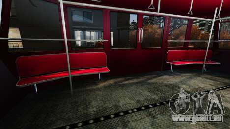 Assise supérieure dans l'ascenseur pour GTA 4