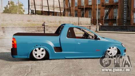 Chevrolet Montana FIXA für GTA 4 linke Ansicht
