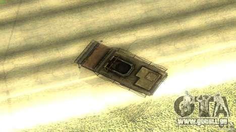 Frontline - MilBus für GTA San Andreas Innenansicht
