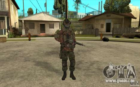 Special Forces-Flag für GTA San Andreas
