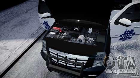 Cadillac Escalade Police V2.0 Final für GTA 4 Innenansicht