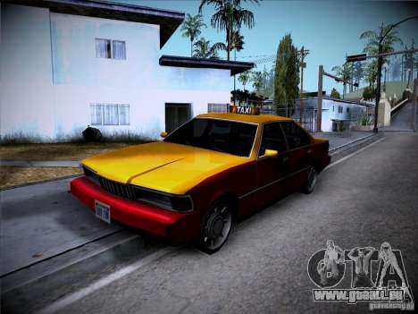 Sentinel Taxi pour GTA San Andreas