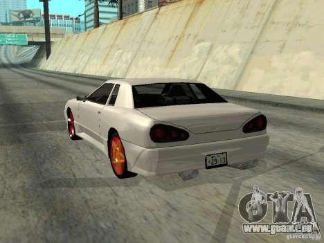 Elegy 29-13 pour GTA San Andreas vue de droite