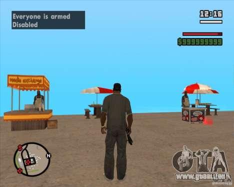 CJ-maire pour GTA San Andreas sixième écran