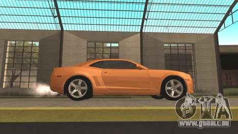 Chevrolet Camaro SS 2010 v2.0 Final für GTA San Andreas linke Ansicht