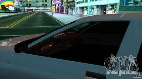 VAZ-2112 v0.1 pour GTA San Andreas vue de droite