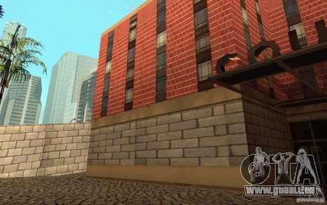 Neue Texturen für das Krankenhaus in Los Santos für GTA San Andreas neunten Screenshot