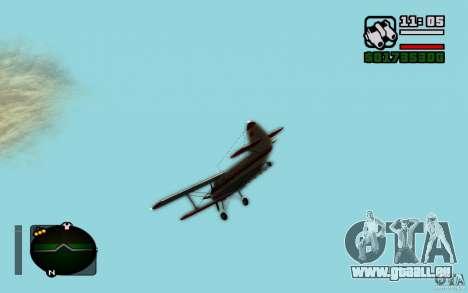 Antonow an-2 für GTA San Andreas rechten Ansicht