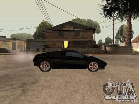 GTA4 Infernus pour GTA San Andreas laissé vue