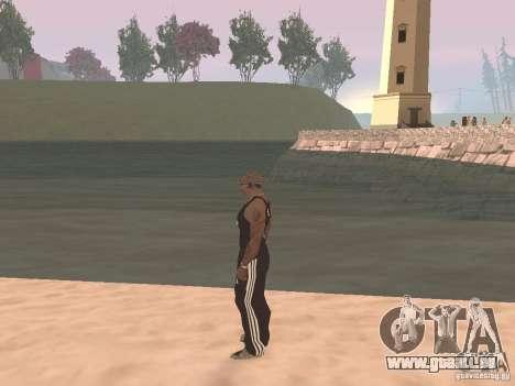 Choisissez n'importe quel temps pour GTA San Andreas deuxième écran