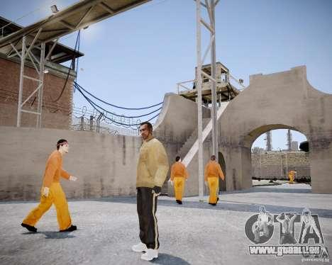 Prison Break Mod pour GTA 4 secondes d'écran