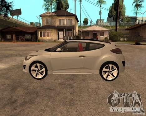Hyundai Veloster 2012 für GTA San Andreas linke Ansicht