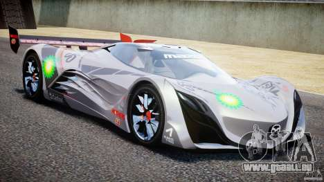 Mazda Furai Concept 2008 für GTA 4 Seitenansicht