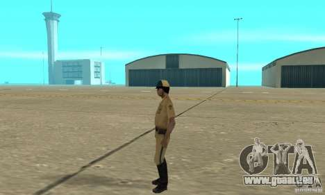 New uniform cops on bike für GTA San Andreas zweiten Screenshot