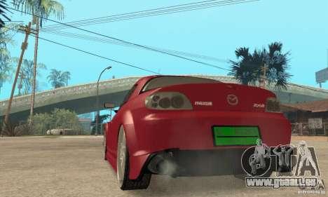 Mise en marche du moteur et les phares pour GTA San Andreas sixième écran